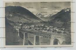 Switzerland Suisse MOB Gstaad Bernese Oberland Railway Bridge Bahn Photoglob Y2854 - BE Berne
