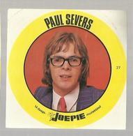 "**Oude JOEPIE- Muziekblad Sticker     ** = """" PAUL   SEVERS """" - Autres"