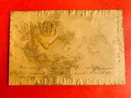 1901 - RELIEF - GAUFREE - M.M. VIENNE - ART NOUVEAU - ENGEL - ANGE - STERREN - ETOILES - Vienne