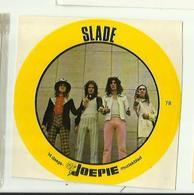 "**Oude JOEPIE- Muziekblad Sticker     ** = """" SLADE"""" - Autres"
