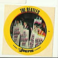 "**Oude JOEPIE- Muziekblad Sticker     ** = """" THE  BEATLES"""" - Autres"