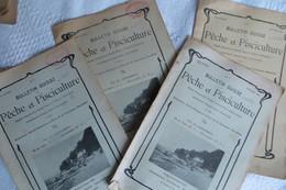 BULLETIN SUISSE DE PECHE ET PISCICULTURE 1912 - Non Classificati