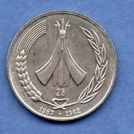 Algérie -1 Dinar 1987 -  Km # 117 -  état  TTB - Algérie