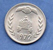 Algérie -1 Dinar 1972 -  Km # 104 -  état  SUP - Algérie