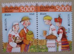 Weißrussland        Europa  Cept    Besuchen Sie Europa  2012  ** - Europa-CEPT