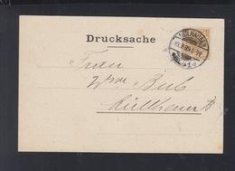 Dt. Reich Orts-PK 1899 Mülhausen - Deutschland