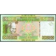TWN - GUINEA 39b - 500 Francs 2012 Prefix KO UNC - Guinee