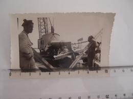 Photo Originale Avion Aviation à Identifier Crash Marine Accident D'avion - Aviación
