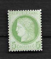 N 53 Neuf ** Bon Centrage - 1871-1875 Ceres