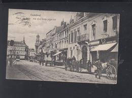 CP Cambrai Place Au Bois 1917 - Cambrai