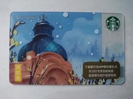 China Gift Cards, Starbucks, 200 RMB, Harbin , 2018 ,(1pcs) - Gift Cards