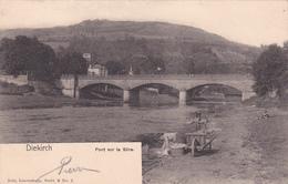CPA  -  Luxembourg - Diekirch - Pont Sur La Sûre - Nels Serie 9 N°2 - 1905 - Lavandières / Laveuses - Diekirch