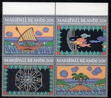 1111 490 - MARSHALL 1984 , Serie Yvert N. 41/44  *** (2380A) - Marshalleilanden