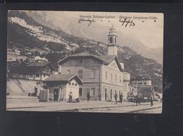 Cartolina Ferrovia Belluno-Cadore 1912 - Belluno