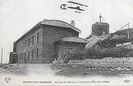 Carte Postale - Grand Prix Michelin - Arrivée De RENAUX Au Sommet Du Puy-de-Dome (63) - 1911 - - Non Classificati