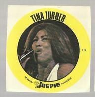 "**Oude JOEPIE- Muziekblad Sticker     ** = """" TINA  TURNER"""" - Autres"