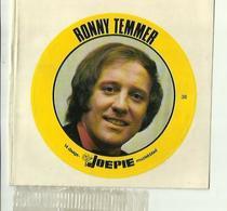 "**Oude JOEPIE- Muziekblad Sticker     ** = """" RONNY  TEMMER"""" - Autres"