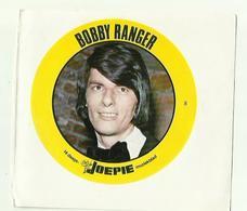"**Oude JOEPIE- Muziekblad Sticker     ** = """" BOBBY  RANGER"""" - Autres"