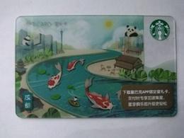 China Gift Cards, Starbucks, 200 RMB,chengdu, 2018 ,(1pcs) - Gift Cards