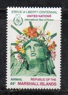 1096 490 - MARSHALL 1985 , Posta Aerea Serie Yvert N. 7  *** (2380A)  Pace - Marshalleilanden
