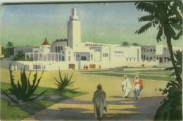 AFRICA - LIBIA / LIBYA - S. BONELLI SIGNED POSTCARD - TRIPOLI -.ALBERGO UADDAN - EDIT ITALGEO ( BG6367) - Libya