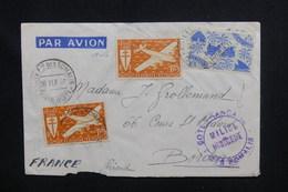 """CÔTE DES SOMALIS - Cachet """" Milice Indigène """" Sur Enveloppe De Djibouti Pour La France En 1946 - L 48281 - Côte Française Des Somalis (1894-1967)"""