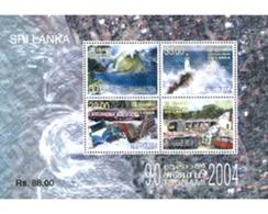 Ref. 300282 * MNH * - SRI LANKA. 2005. SUNAMI 2004 . SUNAMI 2004 - Sri Lanka (Ceylon) (1948-...)