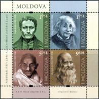 "Moldova 2019  ""Mahatma Gandhi (1869-1948).Personalities Who Changed World History."" MS Quality:100% - Moldawien (Moldau)"