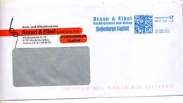 Lettre Flamme Ema Frankit Imprimerie Braun - [7] République Fédérale