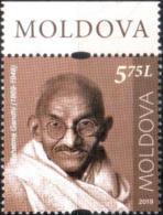 "Moldova 2019 ""Mohandas (Mahatma) Gandhi (1869-1948) Personalities Who Changed World History."" 1v Quality:100% - Moldavië"