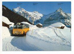 GRINDELWALD Postauto Saurer - BE Berne