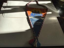 Écusson Fanion En Plastique   Blason En Tissu Black Sea Division Khersones Training Vessel En Tissu - Ecussons Tissu