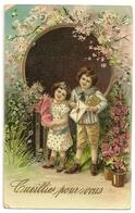 238 - Enfants - Cueillies Pour Vous - Dessins D'enfants