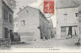 Carte Postale - MAYET-de-MONTAGNE - Quartier De La Gendarmerie - 1909 - - Frankreich