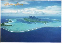 French Polynesia, Boba Bora 1984, Vue Aerienne, Used 1984 See Timbre Bird - Frans-Polynesië