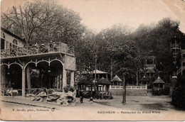 Robinson 1912 - Restaurant Du Grand Arbre - édit. Javelle - !!! 2 Coins Légèrement Coupés - Le Plessis Robinson