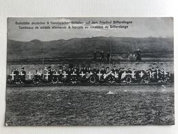 NEW - LUXEMBOURG - DIFFERDANGE  Tombeaux Friedhof Armée Soldats Ww1 Troupe 1914 1915 1916 1917 1918 1919 1. WK - Differdange