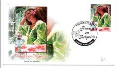 POLYNESIE FDC 2006 FEMMES EN POLYNESIE - FDC