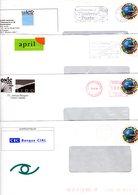 - PAP TSC Lot De 11 Enveloppes Oblitérees - Entiers Postaux