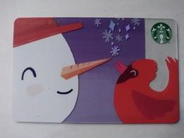 China Gift Cards, Starbucks,500 RMB, 2018 ,(1pcs) - Gift Cards