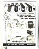 "PUB  ""  MAGASIN TINTIN ""  ""  TINTIN Et MILOU  ""   1967 ( 1 ) - Livres, BD, Revues"