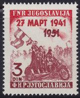 Yugoslavia 1951 Yugoslav Coup D'état - 10th Anniversary, MNH (**) Michel 640 - 1945-1992 Socialist Federal Republic Of Yugoslavia