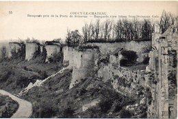 02 COUCY-le-CHÄTEAU - Remparts Pris De La Porte De Soissons  - BE - France
