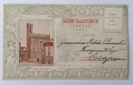 V 12001 Firenze - Scena Illustrata - Palazzo Del Bargello - Firenze
