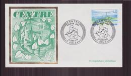 """FDC Du 31 Janvier 1976 à Orléans """" Centre """" - FDC"""