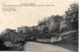 02 COUCY-le-CHÄTEAU - Ruines De La Première Enceinte Fortifiée Entourant La Ville Même (XIIIe Siècle) - BE - France
