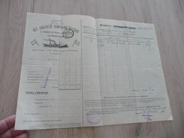 Connaissement Dampskibs Selskab Bordeau Libau Riga Reval 1911 Olives Salées - Verkehr & Transport