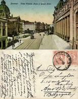 Romania, BUCHAREST BUCURESTI, Calea Victoriei, Grand Hotel (1925) Postcard - Romania