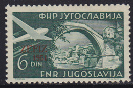 Yugoslavia 1951 ZEFIZ Philatelic Exhibition In Zagreb, MNH (**) Michel 653 - 1945-1992 Socialist Federal Republic Of Yugoslavia