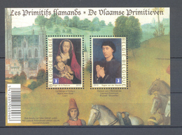 BLOK 185 Vlaamse Primitieven POSTFRIS** 2010 - Blocks & Sheetlets 1962-....